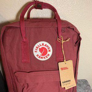 Fjallraven Kanken Classic Backpack Red